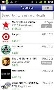 Digital Receipts - screenshot thumbnail