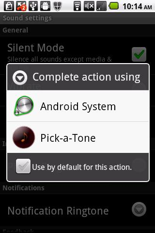 MP3 Ringtones Picker- screenshot