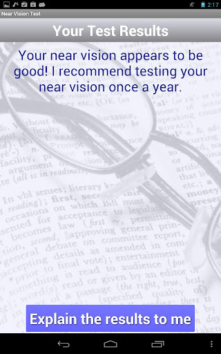 【免費醫療App】Reading Glasses Vision Test-APP點子