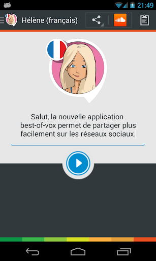 Hélène voice French