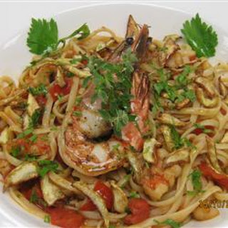 Special Seafood Linguine