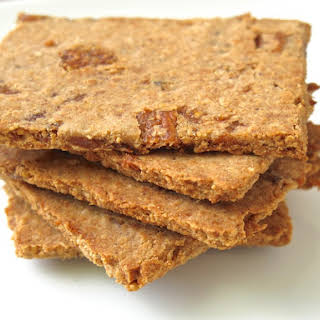 Fig Almond Flour Crackers.