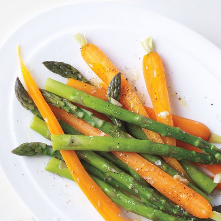 Vegetables with Garlic Oil Recipe