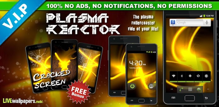 Plasma Reactor Live Wallpaper apk