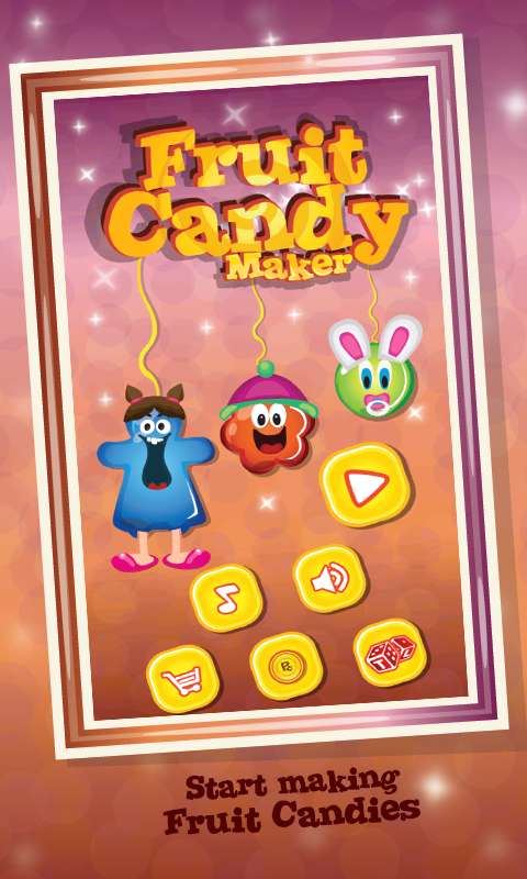 Make Fruit Candy –Cooking Saga - screenshot