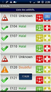 E-Halal Halal Additive- screenshot thumbnail