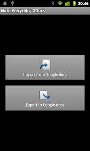NE GDocs - screenshot thumbnail