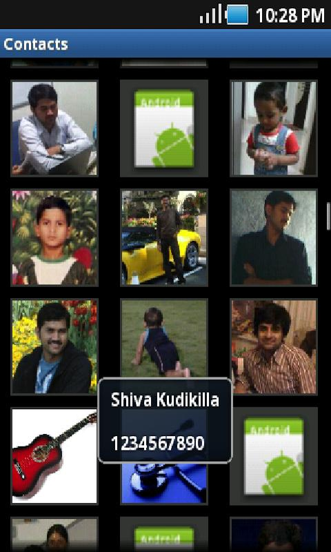 Picture Contacts- screenshot