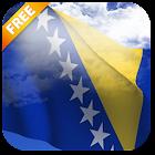 3D Bosnia Flag Live Wallpaper icon
