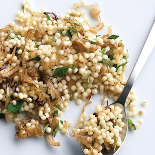 Israeli Couscous with Parsley and Shallots
