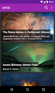 Astronomy Picture of the Day - screenshot thumbnail