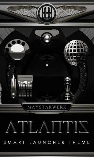 Smart Launcher theme Atlantis