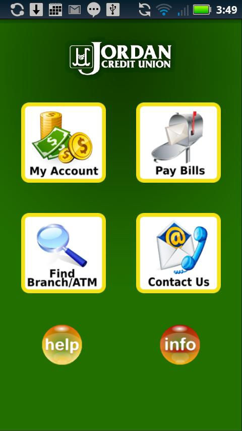 Jordan Credit Union - screenshot