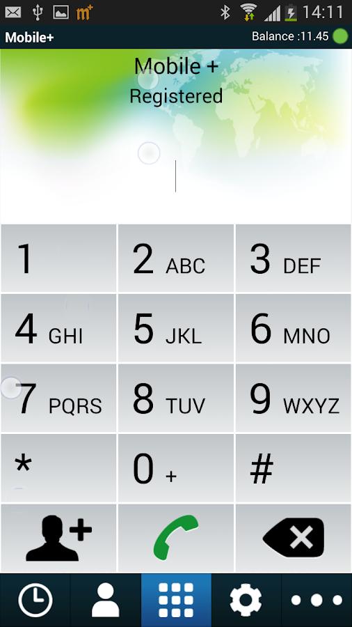 M Plus Dialer- screenshot
