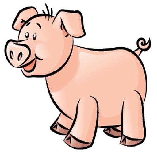 Достопримечательностями, рисунок свиньи карандашом для детей