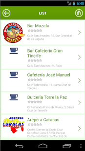 Tenerife y Restaurantes- screenshot thumbnail