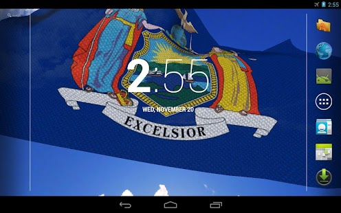 New York Flag Live Wallpaper - screenshot thumbnail