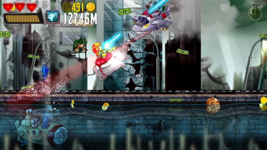 android Ramboat: Shoot and Dash Screenshot 9