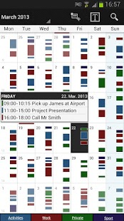 Business Calendar Pro Screenshot 1