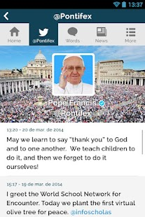 The Pope App - Pope Francis - screenshot thumbnail