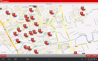 Screenshot of Cajamurcia Banca Online