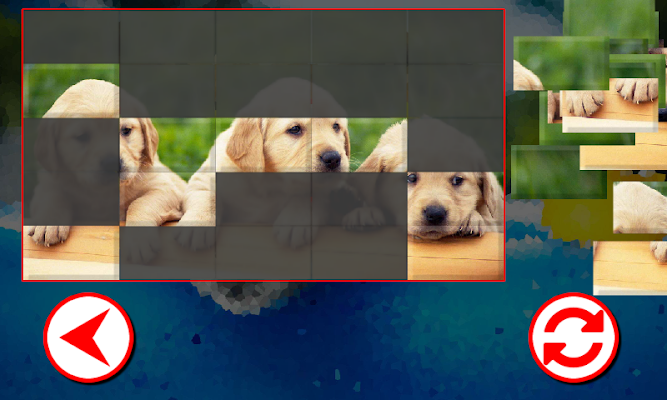 Dogs Puzzles - screenshot