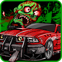 Zombie VS Crazy Driving icon