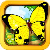 Butterfly jigsaw kids games