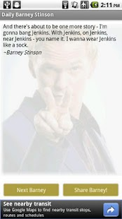 Daily Barney Stinson - screenshot thumbnail