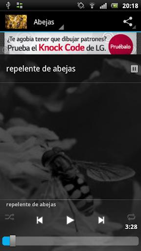 Repelente de abejas y mosquito
