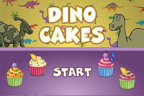DinoGamez Dino Cakes