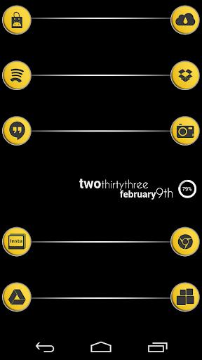 VM3 Yellow Icon Set