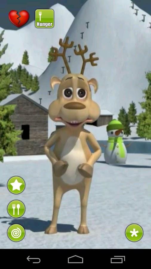 Talking Prancer Reindeer - screenshot