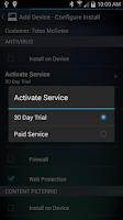 Screenshot of AVG Business CloudCare