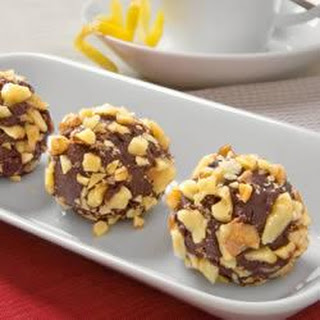 Walnut Cranberry Truffles