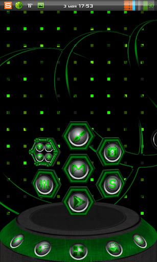 Next Launcher 3D Theme Hit-G