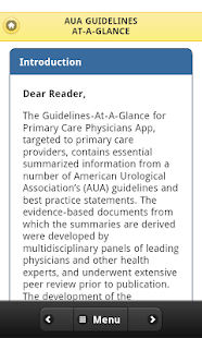 Urology Guidelines PrimaryCare - screenshot thumbnail