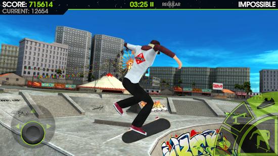 5 Skateboard Party 2 Lite App screenshot