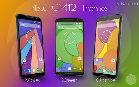 CM12 Orange Pop Theme v5.b