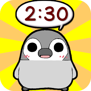 Pesoguin Clock Widget -Penguin