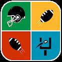 Logo Quiz Football American icon
