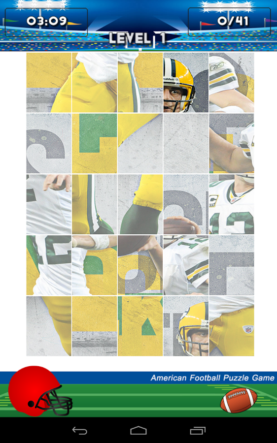 American Football Puzzle Game - screenshot