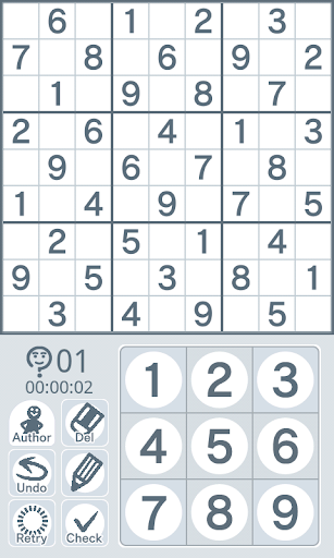 Sudoku by Nikoli Medium 17
