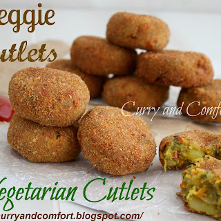 Vegetable Cutlets.