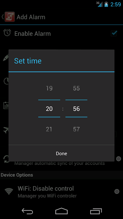 configureU Silence Scheduler- screenshot