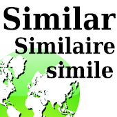 SimilarWords Eng:SpanishFrench