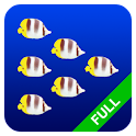 Fish swarm Live Wallpaper FULL logo