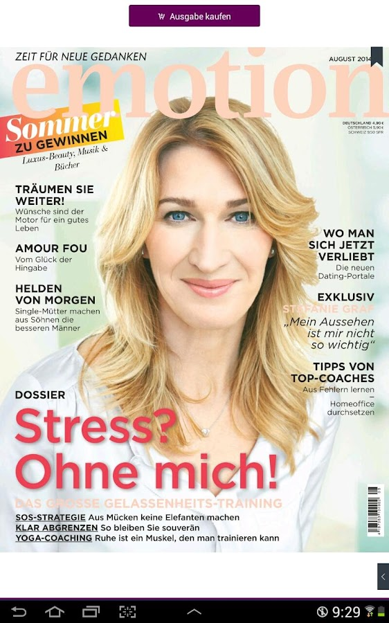 EMOTION – Frauenmagazin- screenshot