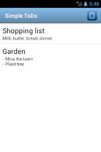 Simple ToDo- screenshot thumbnail