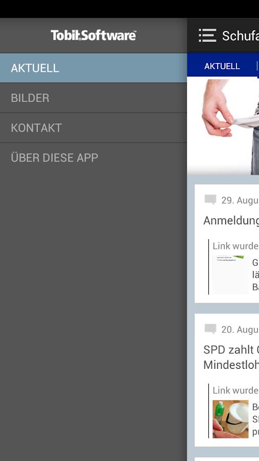 Schufa Freies - screenshot